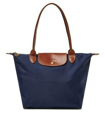 Authentic Longchamp Le Pliage Medium Nylon Tote 2605089556 Navy