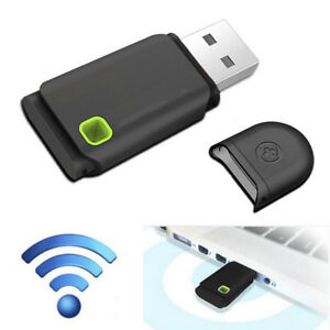 300Mbps Mini USB Wireless WiFi Lan Network Receiver Card Adapter For PC Desktop~