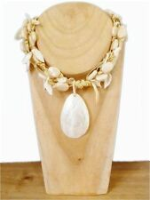 Shell Statement Costume Necklaces & Pendants