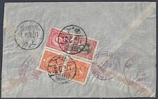 CHINA 1939 US SHANGHAI REGISTERED EXPRESS CLIPPER AIR MAIL VIA HONOLULU HAWAII