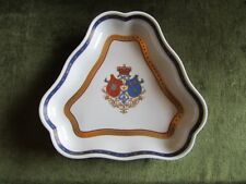 Oficina Real Small Dish With Royal Coat Of Arms D.Carlos And D.Amélia