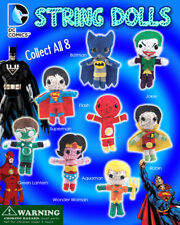 Vending Machine $1.00 Capsule Toys - DC Comic String Doll Figurines