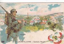 Z374) WW1 MONFALCONE (GORIZIA), CANTIERE NAVALE, FANTERIA.