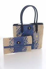 Modalu Falmouth Mini SHOPPER Bag in Ocean Blue