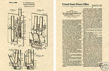 1st US PATENT for TV REMOTE CONTROL Art Print READY TO FRAME!!!!! Zenith rc