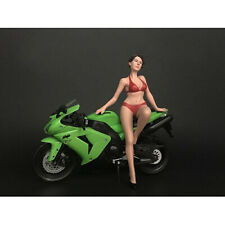 HOT BIKE MODEL ELIZABETH FIGURINE FOR 1/12 SCALE MODELS AMERICAN DIORAMA 38374