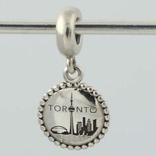 New Authentic Pandora Toronto Charm - Sterling Silver Dangle USB791169-G043