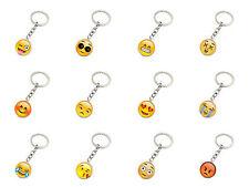 Schlüsselanhänger Emoji Emoticon Smiley Metall div. Motive Geschenk Idee