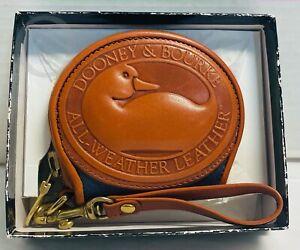 NIB*Vintage*Dooney and Bourke*RARE*Air Force Blue*Big Duck Coin Purse*21143Y