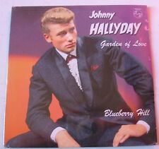 JOHNNY HALLYDAY GARDEN OF LOVE  / BLUEBERRY HILL  CD Single   NEUF SCELLE
