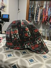 Wendys Welding Hat Made With Ac Dc Fabric New!