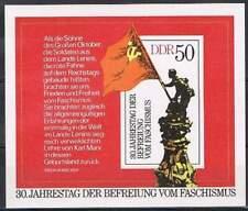 DDR postfris 1975 MNH block 42 - Bevrijding faschisme 30 jaar