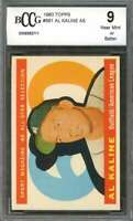 Al Kaline Card 1960 Topps #561 As Detroit Tigers BGS BCCG 9