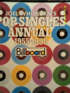 Pop Singles Annual, 1955-1990 by Joel Whitburn (1991, Trade Paperback)