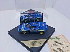 """VITESSE SKC99010 LANCIA STRATOS""""L' AUTOMOBILE"""" B.DARNICHE/A.MAHE WINNER  1981"""