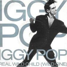 "Iggy Pop Real Wild Child (Wild One) UK 45 7"" sgl +Pic Slv +Little Miss Emperor"