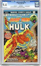 Marvel Team-Up  #18 CGC  9.4  NM  Wht pgs Human Torch & Hulk, Blastaar App. 2/74