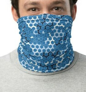 Ultra Digital Camo Neck Gaiter. Camouflage snood. Cyber Camouflage scarf.