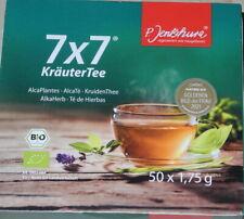 P. Jentschura 7x7 KräuterTee Bio 50x 1,75g (NEU;OVP)