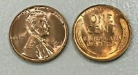 1953 D Red  GEM Brilliant Uncirculated  Lincoln Wheat Cent Penny