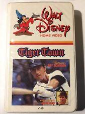Walt Disney Home Video: Tiger Town VHS - Roy Scheider - Big White Clamshell OOP