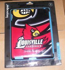 NEW NCAA Louisville Cardinals IPAD 2 3 Protector keyscaper sleek case NEW NIP