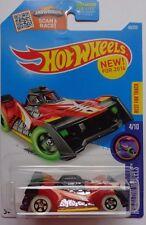 2016 Hot Wheels X-GLOW WHEELS 4/10 Voltage Spike 49/250 (Brick Red Version)