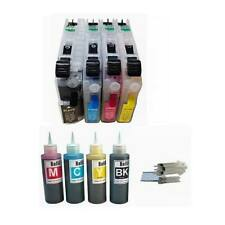 4x100ml Ink 4 Refillable cartridge For Brother LC103 LC-103 J4510DW J6920DW