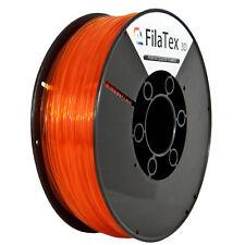 Premium PLA Filament Rolle Shiny Orange Transparent 1,75mm 1KG für 3D Drucker