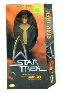 """1999 PLAYMATES STAR TREK CLASSIC EDITION  12"""" INCH CAPTAIN CHRISTOPHER PIKE MISB"""