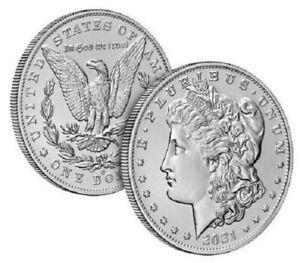 Morgan 2021 Silver Dollar with (O) Mint Mark CONFIRMED