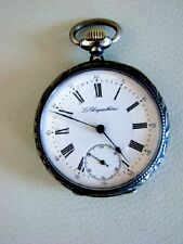 GOUSSET POCKET WATCH LE CHRYSANTHEME ANCRE COMPENSATEUR CALIBRE 477 CORTEBERT