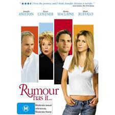 Rumour Has It DVD Jennifer Aniston Kevin Costner Brand New R4