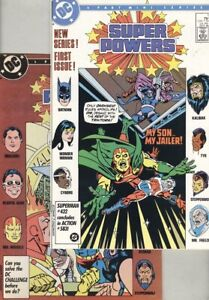 Super Powers #1, #2, #3 and #4 Complete Set, #3 has M.A.S.K. Insert