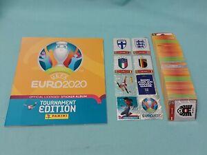 Panini Euro EM 2020-2021 Tournament Edition 5/10/20/50/100/200 Sticker aussuchen