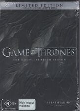 Game of Thrones Season 5 Limited Edition Peter Dinklage 6-disc Set DVD R4 PAL