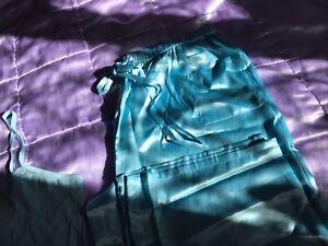 avon light blue pyjamas