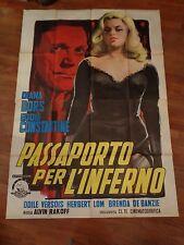 manifesto,1959,PASSAPORTO PER L'INFERNO,Passport to Shame,DIANA DORS,Constantine