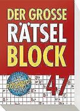 Der große Rätselblock 47 (2017, Taschenbuch)