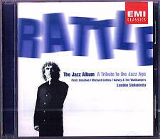Simon RATTLE JAZZ ALBUM Gershwin Milhaud Stranvinsky DONOHOE CD Rhapsody in Blue