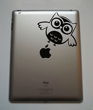 1 x Owl Sticker Vinyl Decal for iPad Mac Macbook Laptop Tablet Animal Car Window