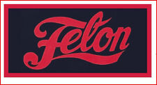 Felon Motorcycle Jacket Vest  Biker Punk Patch