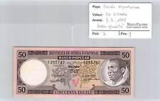 BILLET GUINEE EQUATORIALE - 50 EKUELE - 7-7-1975