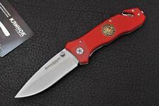 Couteau Boker Magnum FIRE DEPT Acier 440 Manche G-10 Recue 01MB366 / BOM366
