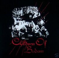 CHILDREN OF BODOM cd lgo GROUP PHOTO Official SHIRT LAST LRG New oop