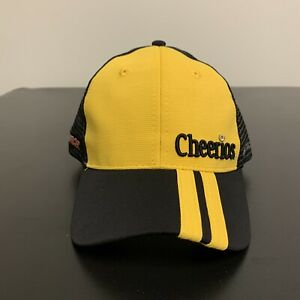 Austin Dillon NASCAR Racing Cheerios Strapback Hat Race Mesh Back NWT One Size