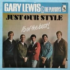 GARY LEWIS & THE PLAYBOYS~JUST OUR STYLE~1966 UK 16-TRACK MONO VINYL LP [A1/B1]