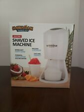 Electric Hawaiian Shaved Ice Maker. No flavors included