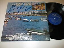 LP/LOS REYES PARAGUAYOS/FRENTE AL MAR/Columbia 7124 SIGNIERT SIGNED