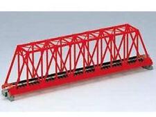 Kato 20-431 - Kastenbrücke grün mit Gleis 1-gl., 248 mm  - Spur N - NEU